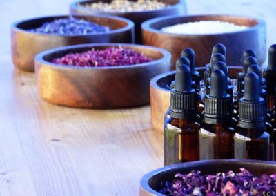 susze i olejki kosmetyczne