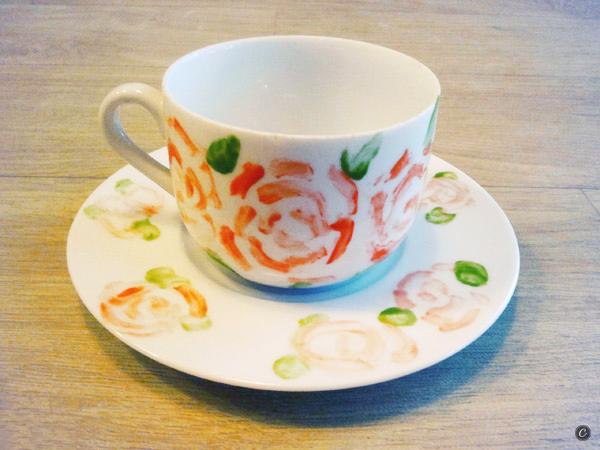 malowana porcelana