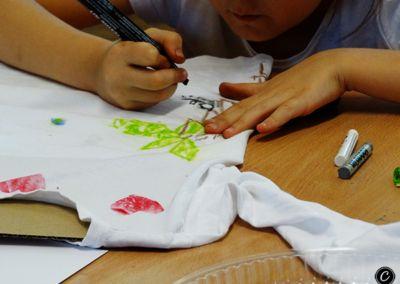 malowanie na tkaninie