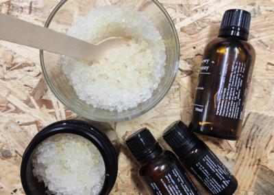 peelingi solne - kosmetyki naturalne caramel