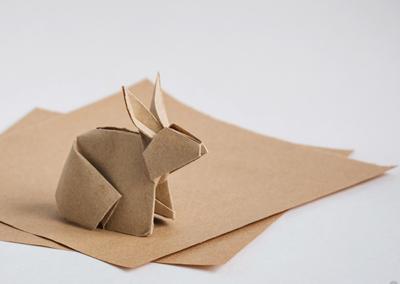 wielkanocne warsztaty origami caramel