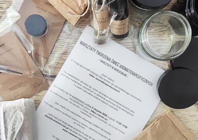 zestaw do tworzenia świec aromaterapeutycznych - przykładowa paczka